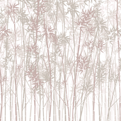 Bamboo Forest : Red