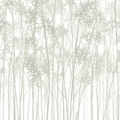 Bamboo Forest : Warm Grey