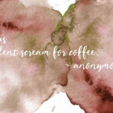 Ink : Coffee
