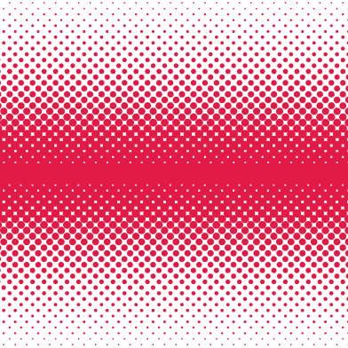Halftone Double Fade : Red