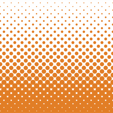 Halftone Fade : Burnt Orange