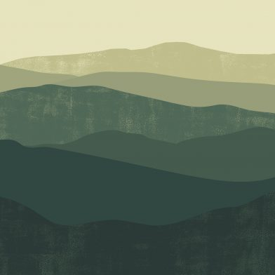 Les Montagnes : Green