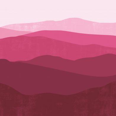 Les Montagnes : Pink