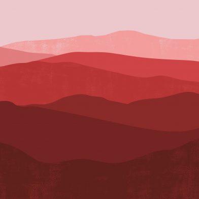 Les Montagnes : Red