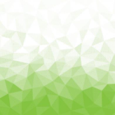 tessel halftone : green