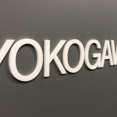 signage: Yokogawa Melbourne