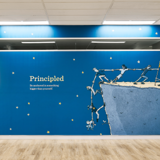 St Andrew's Cathedral School Sydney – Character Strength Murals